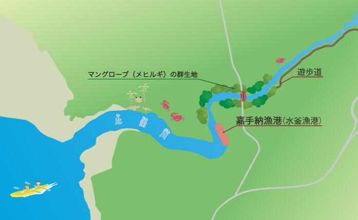 修学旅行・教育旅行プログラムのフィールドマップ